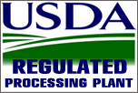 USDA Regulated Processing Plant